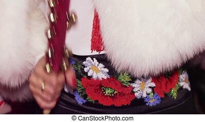 Sleigh Bells - Ukrainian folk instrument. Sleigh Bells