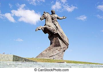 Santiago de Cuba - Antonio Maceo monument in santiago de...