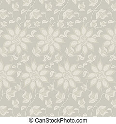 Floral abstract background seamless