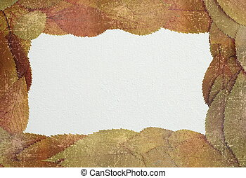 distressed autumn backdrop with place for text