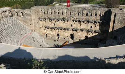 ancient city of Aspendos 1 - 1000 BC Ancient Aspendos City...