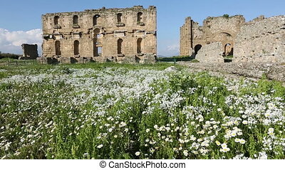 ancient city of Aspendos 3 - 1000 BC Ancient Aspendos City...