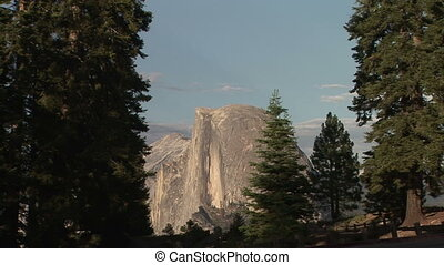 Half Dome from Glacier Point, Yosemite National Park,...