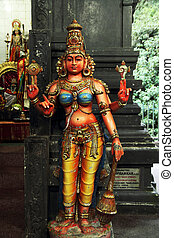 hindu godess statue