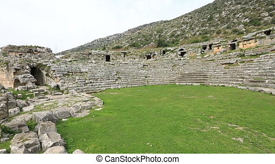ancient city of Limyra - Ancient Limyra City at Turkey...