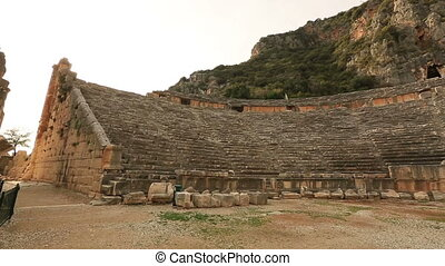 ancient city of Myra 2 - There is no substantiated written...