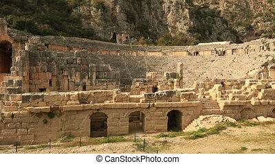 ancient city of Myra 3 - There is no substantiated written...