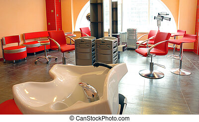 beauty salon spa interior - spas interior red beauty salon...