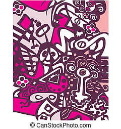 Abstract, Ontwerp