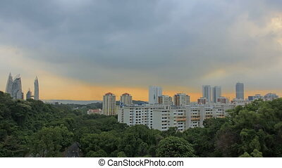 Planned Public Housing in Singapore - View of Planned Public...