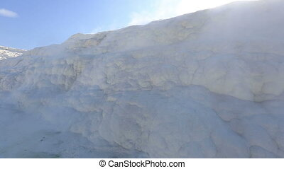 cotton castle Pamukkale 3 - famous place travertine terraces...