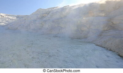 cotton castle Pamukkale 2 - famous place travertine terraces...