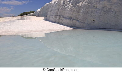 cotton castle Pamukkale 6 - famous place travertine terraces...