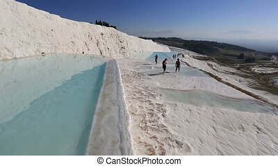 cotton castle Pamukkale 9 - famous place travertine terraces...