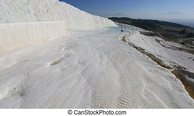 cotton castle Pamukkale 10 - famous place travertine...