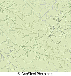 seamless vector background fig leaves