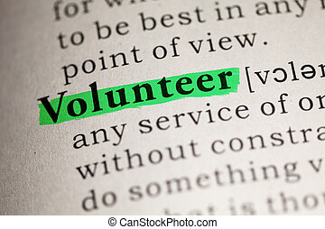 Volunteer - Fake Dictionary, Dictionary definition of the...
