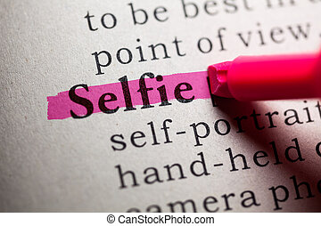 selfie - Fake Dictionary, definition of the word selfie.