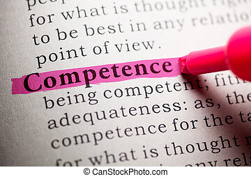 competence - Fake Dictionary, definition of the word...