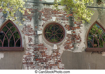 Charleston Carriage house - Wrought Iron windows in historic...