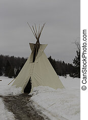 Native tee pee