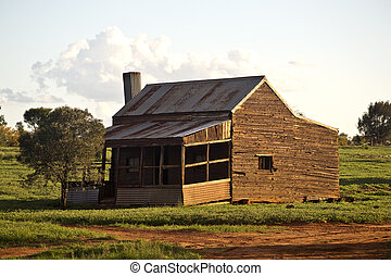 Old Farm House in Australia - Ruins of an early 20th century...