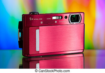 compact digital camera - photo of the compact digital camera...