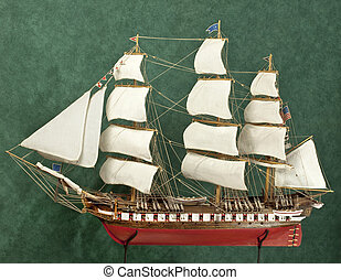 Ship model - USS Constitution ship model (original is the...