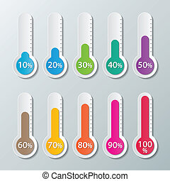 paper infographic background - colorful infographics paper...