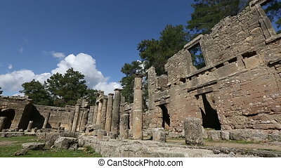 ancient city of Seleucia Lybre 5 - 12th or 13th century BC...
