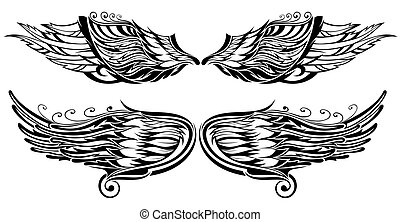 Tattoo wings - Tattoo
