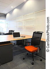 Interior of a new office - Empty office with new modern...