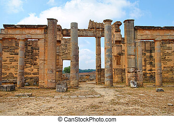 Libia - Beautiful views of the archaeological site of Cyrene...