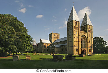 Southwell Minster is the Cathedral of Nottinghamshire, and...