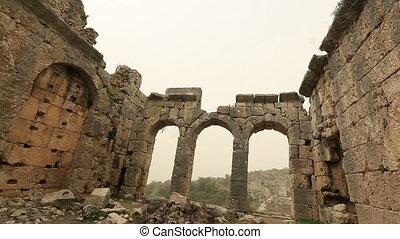 ancient city of Tlos 2 - 4000 BC Ancient Tlos City at Turkey