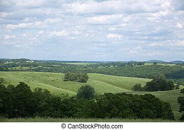 Southern Missouri Landscape - A southern Missouri landscape...