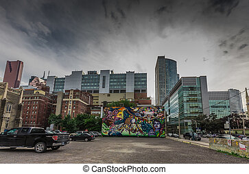 Graffiti Art in Toronto - A really beautiful graffiti art in...