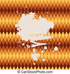 Abstract vector background Polygon style card with an...