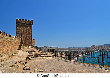 Genoese fortress - Sea view from Genoese fortress near the...
