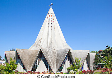 Maputo, Mozambique - Church in Polana district of Maputo,...