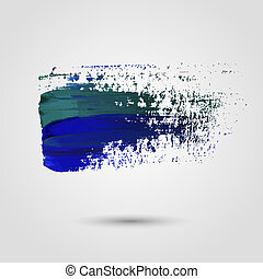 Grunge paint banner Vector background