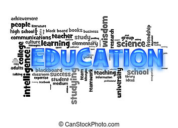 Education word cloud