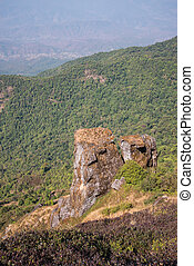 Viewpoint at Kew mae pan nature trail, Doi Inthanon national...