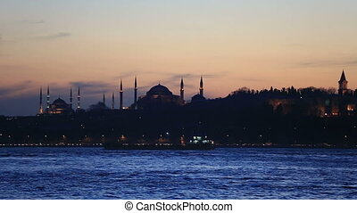 famous place in istanbul scene - famous place Topkapi...