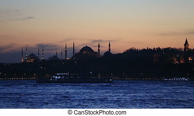famous place in istanbul scene