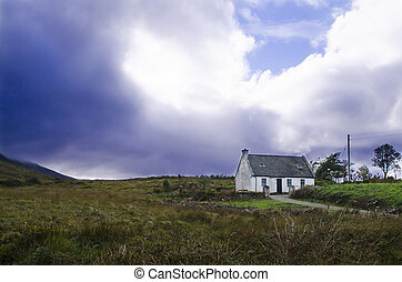 rural irish cottage