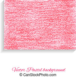 Artistic vector background. Textured pastel paper