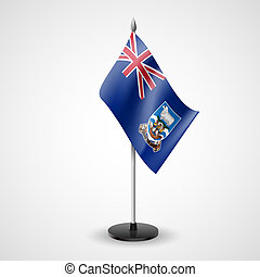 Table flag of Falkland Islands - State table flag of...