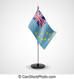 Table flag of Tuvalu - State table flag of Tuvalu. National...