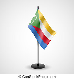 Table flag of Comoros - State table flag of Comoros National...